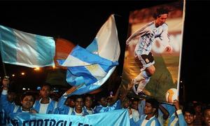 CĐV Ấn Độ phát cuồng vì Lionel Messi