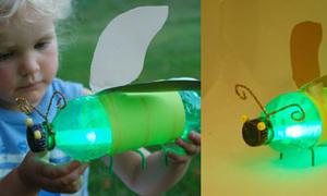 Cách tạo đèn đom đóm ngộ nghĩnh đêm trăng