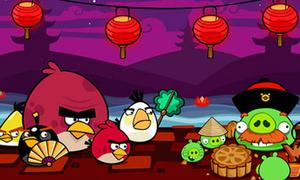 Trò chơi Angry Birds có thêm phiên bản Tết Trung Thu