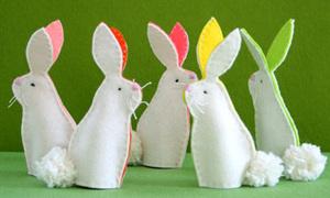 Rối thỏ ngọc cực xinh đi chơi Trung thu