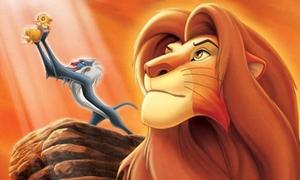 Vua sư tử 3D thống trị bảng xếp hạng