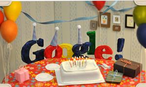 Ngắm logo Google trong các dịp sinh nhật