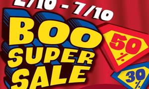 Boo giảm giá lớn nhất trong năm