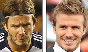David Beckham bỗng nhiên già đanh xấu tệ