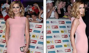 Cheryl Cole váy hồng xinh xắn khoe trọn đường cong