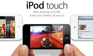 Lộ diện iPod Touch phiên bản trắng