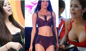 Rộ trào lưu điện thoại kẹp ngực giống Larissa Riquelme