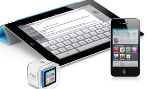 'Ring' cùng lúc bộ sản phẩm Apple iPack
