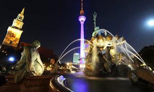 Lễ hội ánh sáng rực rỡ ở Berlin