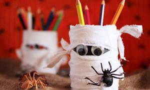 Hộp bút xác ướp nhí nhố khởi động Halloween