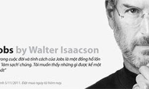 Tiểu sử Steve Jobs bản tiếng Việt sẽ xuất hiện tuần tới