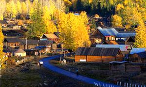 Toàn cảnh ngôi làng thần tiên rực rỡ ở Trung Quốc