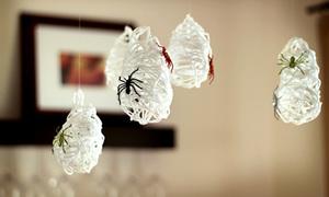 Mạng nhện lơ lửng treo trần nhà đẹp miễn chê
