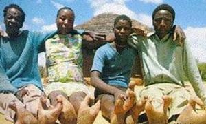 Bộ lạc 'tôm hùm' chân chỉ có 2 ngón