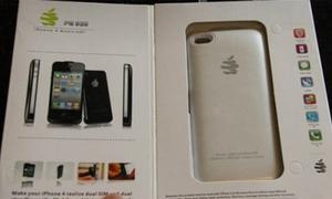 Thiết bị biến iPhone 4 thành điện thoại 2 sim 2 sóng