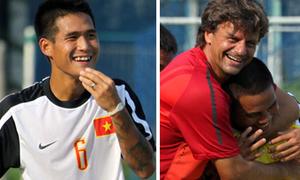 U23 Việt Nam tươi cười hớn hở trước trận gặp Brunei