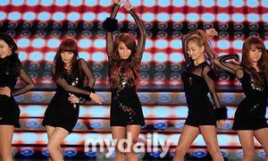 SNSD và Wonder Girls nhảy cực bốc