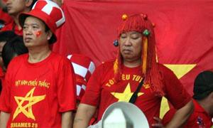 CĐV Việt 'quằn quại' nỗi đau