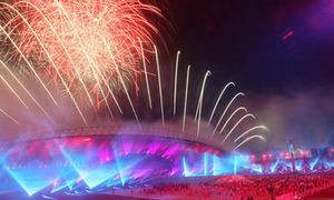 Rực rỡ ánh sáng lễ bế mạc SEA Games 26