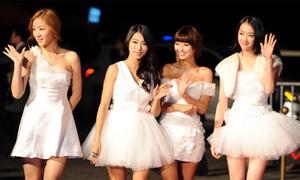 Sao Hàn nhộn nhịp thảm đỏ MMA 2011