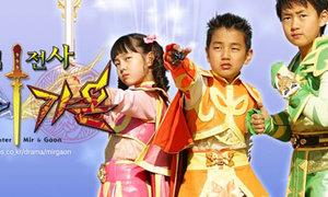 Sao Hàn 'máu' đóng phim từ hồi bé xíu