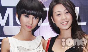Thùy Dương lấn lướt các 'đàn chị' Top model