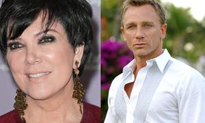 Mẹ Kim Kardashian gây sự với James Bond