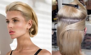 Uốn retro kiểu mới cho tóc ngang vai