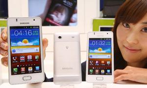 Samsung Galaxy M 'trắng như tuyết'