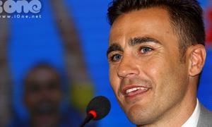 Cannavaro tự nhận đẹp trai khiến 'fan nữ phát cuồng'