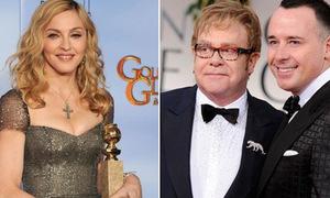 Madonna và Elton John 'văng bậy' ầm ĩ tại Quả cầu vàng
