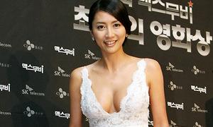 Hoa hậu Hàn lộ phim sex bị tố là 'gái bao'