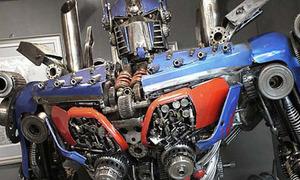 'Robot biến hình' làm từ vật liệu tái chế