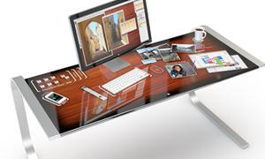 Ý tưởng bàn làm việc cảm ứng đa điểm