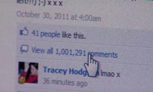 Kỷ lục 1 triệu bình luận cho một status trên Facebook