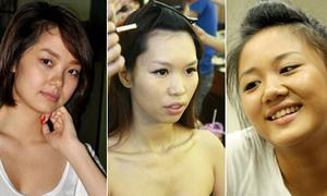 Nhan sắc thật của người đẹp Việt