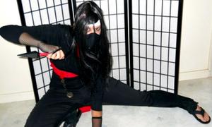 Phụ nữ Iran hào hứng 'hóa thân' ninja Nhật