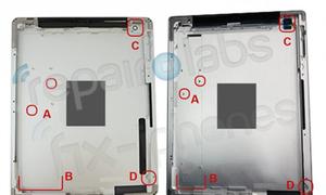 iPad 3 lộ vỏ