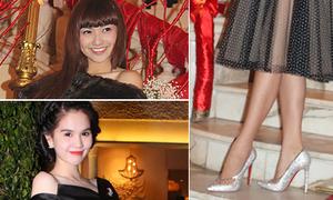 9x Hồng Quế đụng giày 80 triệu với Ngọc Trinh