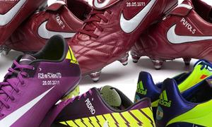 Những chiếc giày độc đáo và ý nghĩa của sao bóng đá