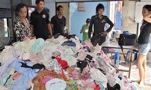 'Kho báu' của tên trộm quái đản - 10.000 bộ đồ lót phụ nữ
