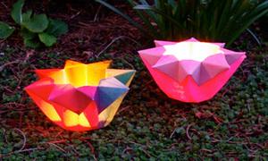 Ngôi sao cute từ cách gập Origami