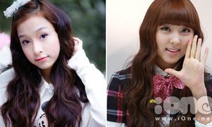 Tự làm tóc gợn sóng giống So Hyun