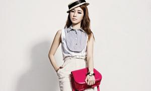 Yoo In Na xinh như hoa trong bộ ảnh từ thiện