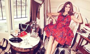 Icon thời trang Hollywood khoe đồ trên tạp chí