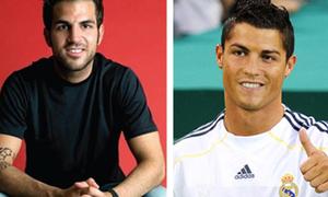 Top 10 sao bóng đá 'hot' nhất trên mạng xã hội