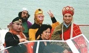 'Tây Du Ký' bản 1986 tung ảnh hậu trường xì-tin