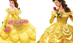 Những nàng công chúa của Walt Disney bước ra đời thực