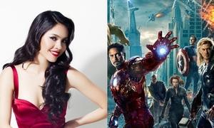 Hoàng My hào hứng đến Hollywood gặp dàn 'siêu anh hùng'