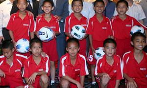 Năm 2015 xây học viện bóng đá ở Hà Nội